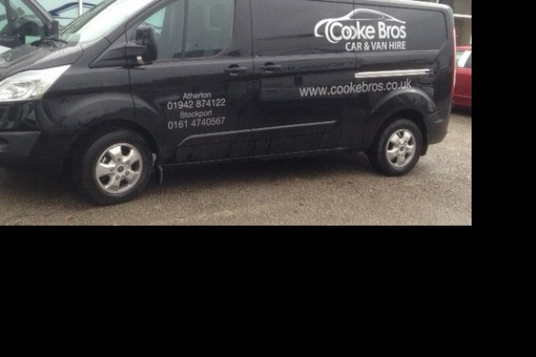 New 67 Plate Ford Transit Custom Limited